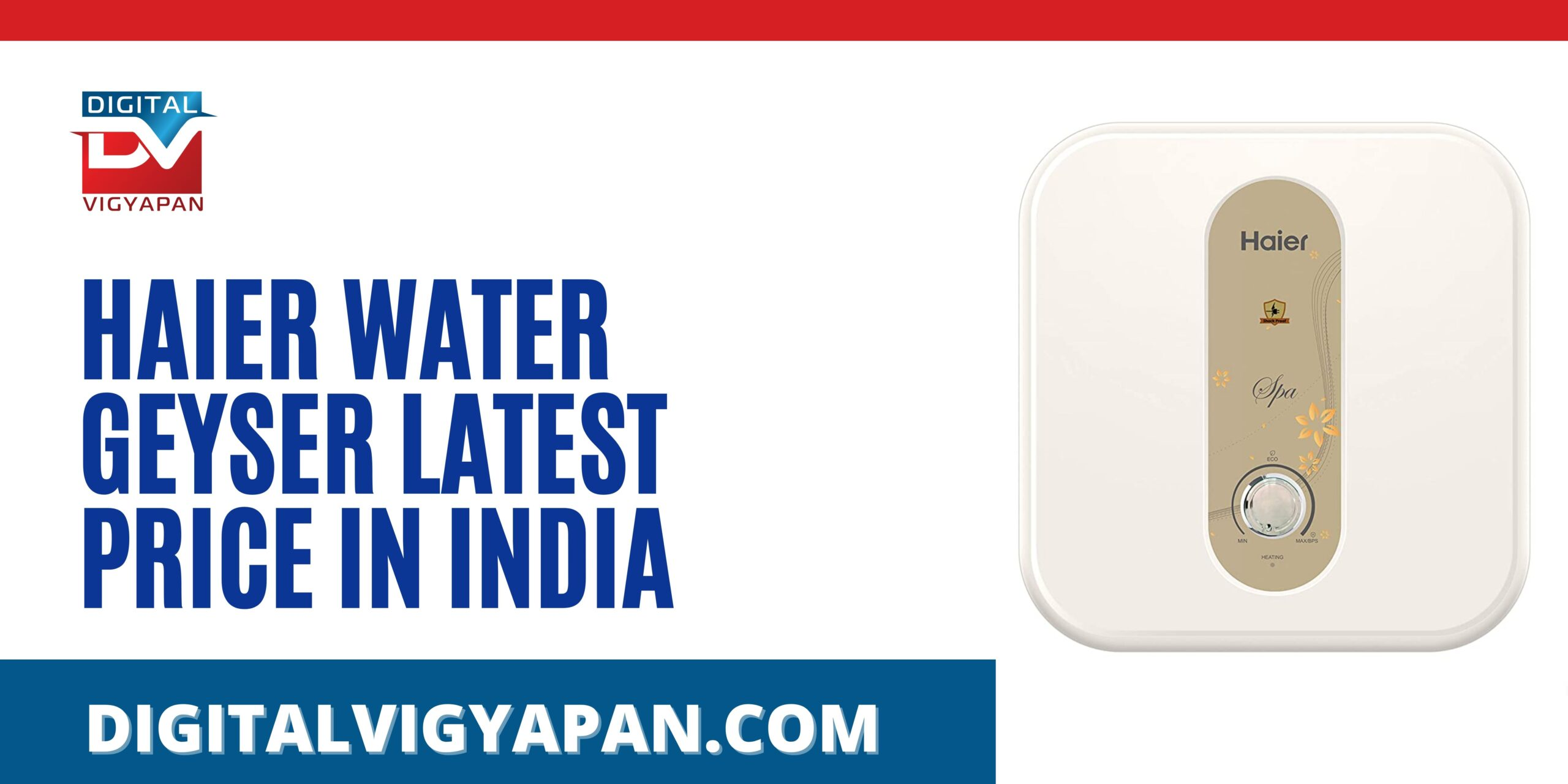 Haier Water Geyser Latest Price In India